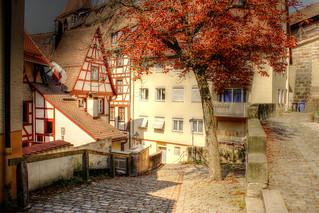 Mittelalterliche Gasse - Medieval Alley