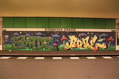 Graffiti (Pascal Volk) Tags: streetart berlin schneberg underground subway graffiti metro platform bahnhof wideangle railwaystation ubahn wa ww subwaystation 16mm ubahnstation metrostation ubhf superwideangle undergroundrailway sww bvg uwa weitwinkel swa rapidtransit vbb ultrawideangle metrosystem uww untergrundbahn ubf ubahnhaltestelle berlinubahn ultraweitwinkel superweitwinkel berlinerverkehrsbetriebe canonef1635mmf4lisusm canoneos6d berlintempelhofschneberg uhst ubahnhofeisenacherstrase