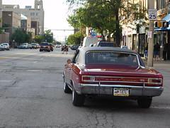 1966 Chevrolet Chevelle SS 396 in Erie, Pennsylvania (Comiccreator24) Tags: red chevrolet america classiccar unitedstates general pennsylvania ss chevelle motors erie supersport americancars generalmotors rwd chevroletchevelle eriepennsylvania rearwheeldrive gmcars 1966chevroletchevelless