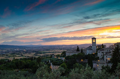 Umbrian Sunsets (meganmccauley14) Tags: sunset assisi umbria
