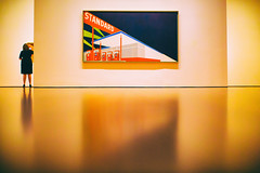Standard (Thomas Hawk) Tags: sanfrancisco california goldengatepark usa deyoungmuseum museum america painting unitedstates fav50 unitedstatesofamerica gasstation deyoung standard edruscha fav10 fav25 fav100 edruschaandthegreatamericanwestshow2016