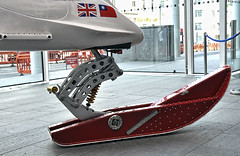 The Winston Wong bio-inspired ice vehicle (BIV) (Martin Carey) Tags: red ski nikon unionjack unionflag imperialcollegelondon nikond90 moonregan photographbymartincarey june172010 moonregantransatlanticexpedition2010