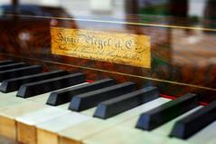 For Evelyn... (eross_flickr) Tags: old music art keys keyboard fuji piano instrument fujifilm fujinon xpro1
