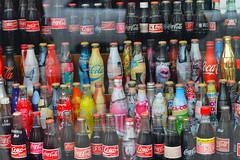 Coke from around the world (WindUpDucks) Tags: world nyc newyork window shop store candy cola bottles display manhattan lexington side coke pop east upper around soda cocacola coca