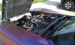 LQ9 Motor in Custom 1978 Corvette (TF Twitch) Tags: chevrolet stingray engine motor 1978 corvette ls c3 lq9