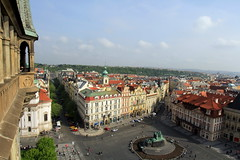Prague Old Town Square (L. Felipe Castro) Tags: republica city europa europe european republic photographer czech prague capital praga fotografo tcheca luizfelipecastro luizfelipedasilvadecastro europeia