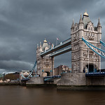 Gloom over Tower Bridge