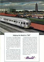 1949 Budd Company Railroad Advertising National Geographic November 1949 (SenseiAlan) Tags: railroad november advertising company national budd geographic 1949