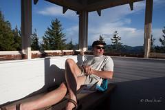 The cuplola good life (D. Inscho) Tags: selfportrait cupola firelookout pechuck