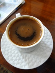 Coffee Smile (Aquasabiha) Tags: cup coffee smile happy coffeecup smileyface