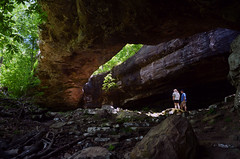 Natural Bridge  at Alum Cove (Jeka World Photography) Tags: bridge nature outdoors hike naturalbridge arkansas hikers ozarks ozarkmountains alumcove jekaworldphotography jeffrosephotography