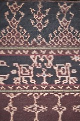 Indonesian Woven Fabric / Ikat, Flores Island (naonishimiya) Tags: art indonesia arts tribal tribes textiles handicrafts weaving sarong seni ikat kain traditionalarts nusatenggara artculture sikka floresisland tenun kerajinantangan kerajinan eastnusatenggara kaintenun traditionaltextiles