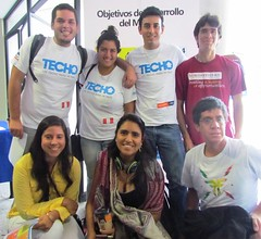 TECHO en el Da Global del Voluntario Juvenil (PNUD Per) Tags: santa per da techo global servicio juventud voluntariado brbara voluntario unv voluntarios pnud
