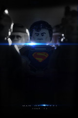 Man Of Steel (delgax) Tags: toys dc lego superman minifig dccomics clarkkent minifigure manofsteel kalel minifigures