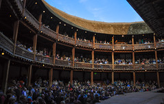 The Tempest @ Globe Theatre (ccr_358) Tags: show uk greatbritain england people london public actors spring globe play audience theatre unitedkingdom stage crowd may shakespeare gb tempest londra globetheatre londinium williamshakespeare thetempest 2013 colinmorgan rogerallam ccr358