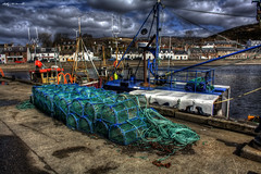 Lobster Pots (Billy McDonald) Tags: scotland harbour hdr lobsterpots ullapool thehighlands