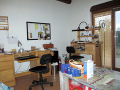 Work Space (AdobeSol) Tags: bench studio jeweler handmadejewelry adobesol adobesoldesigns