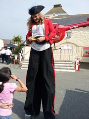 Lands End July 2012 (Bristol Viewfinder) Tags: sea rescue cornwall display cove air helicopter end lands stilts duchy sennen