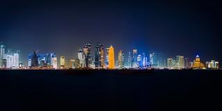 Large Format Doha Panorama Portra 400
