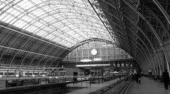 St Pancras International   14/05/13. (Ledlon89) Tags: london station eurostar transport railwaystation trainstation stpancras stpancrasinternational