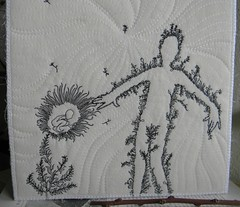of the ground3 (Danny W. Mansmith) Tags: seattle art nature handmade drawing oneofakind fiberart improvised homespun dannymansmith drawingwiththesewingmachine oftheground stopmotionsewing