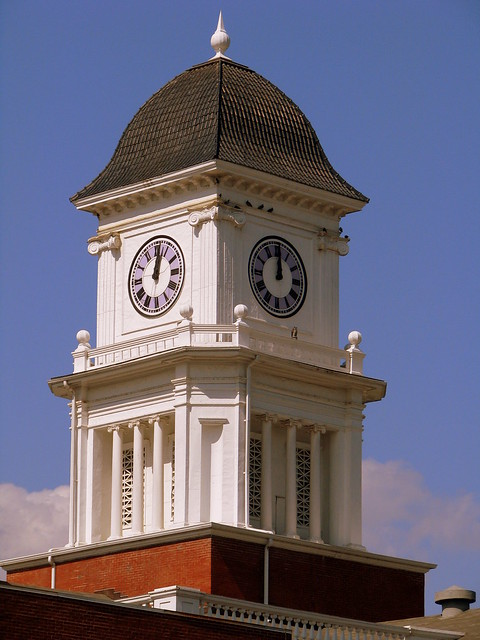 Washington County Courthouse Clock Tower - Jonesborough, TN