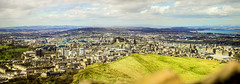 Edi from Arthurs Seat (Diego Almazn) Tags: arthur edinburgh king panoramic arthursseat
