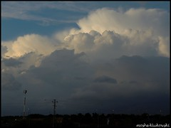 mount Hermon cumulonimbus -   (moshek70) Tags: sky weather clouds israel  cumulonimbus