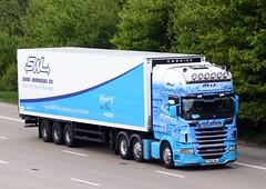 Scania R560 R700 SWL Simon Widdowson (gylesnikki) Tags: blue white truck artic simonwiddowson