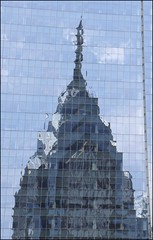 Reflecting Liberty Center (kimbenson45) Tags: windows reflection philadelphia glass architecture buildings reflecting skyscrapers mirrored