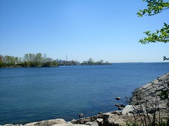 Bike Ride Scenery (Georgie_grrl) Tags: morning lake toronto ontario downtown view bikeride lakeontario dayoff bikingtoronto mydarkpinkside samsungd760 changeyourliferideabike norriscrescentpark cntowerwaaaaaaaaaayoverthere