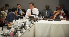 PM co-chairs the UN High Level Panel (The Prime Minister's Office) Tags: usa newyork un unitednations pm primeminister davidcameron highlevelpanel