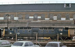 Derelict Deltic (SydPix) Tags: plant yard diesel shed trains works locomotive scrap railways derelict withdrawn doncaster deltic brel class55 55005 theprinceofwalessownregimentofyorkshire crimpsall dogshitalley dogdirtalley sydyoung