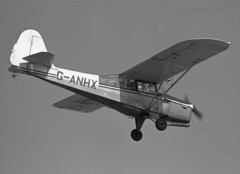 Auster 5D G-ANHX, Rochford Hundred Flying Group, Southend, UK, 28 Mar 69 (goring1941) Tags: airplane aircraft southend auster rochford lightaircraft southendairport egmc rochfordhundredflyinggroup ganhx