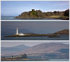 Oban to Craignure Ferry (-terry-) Tags: lighthouse isleofmull island mull argyll scotland castle historicalbuilding