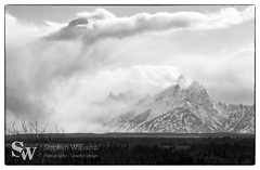 storm_bw_12 (StephenWilliDesigns) Tags: blackandwhite snow storm mountains weather jackson wyoming tetons grandteton jacksonhole grandtetonnationalpark