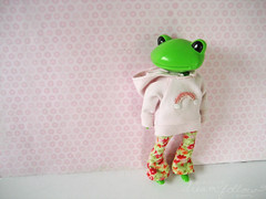 136/365 Fern the Wonderfrog (merwinglittle dear) Tags: 365 wonderfrog atoyaday