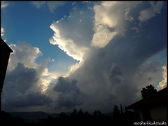 cumulonimbus -  (moshek70) Tags: sky weather clouds israel  cumulonimbus