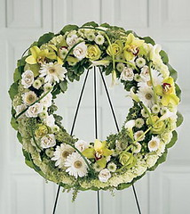 FTD Wreath of Remembrance (dobdeals.com) Tags: flowers wreaths eventsupplies