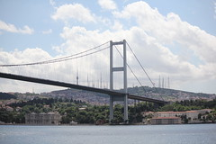 Bridge on Bosphorus (anja63) Tags: bridge turkey istanbul ponte bosphorus turchia bosforo