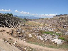 Can You Hear the Crowd? (Richard & Jo) Tags: turkey stadium gladiators aphrodisias afrodisias romanstadium rnj2013bangkenturk gladiatorstadium gladiatorialstadium
