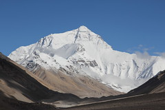 Mount Everest (ronniedankelman) Tags: china road mountain snow berg asia sneeuw tibet everest weg azie mounteverest 8848