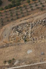 Jarash Octagonal Church (APAAME) Tags: flight2 flying2006 octagonalchurch roman city digitalcamera aerialarchaeology aerialphotography middleeast airphoto archaeology ancienthistory
