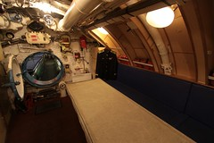Sleeping accommodation behind the fore torpedo room (Marcus Wong from Geelong) Tags: russia submarine saintpetersburg  sovietnavy sovietsubmarines189 project613b