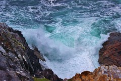 Atlantic breaking (MagzMac) Tags: seascape waves isleofharris hushinish