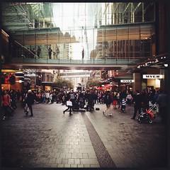 Pitt Street shopping Sydney (Zilch^^) Tags: mall shopping cross walk sydney australia pittstreet uploaded:by=flickrmobile flickriosapp:filter=nofilter