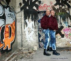 self1839 (Tommy Berlin) Tags: men boots jeans alpha levis bleached bomberjacke