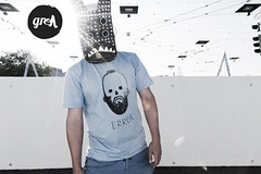 error (-grell streetwear-) Tags: fashion switzerland screenprint mask tshirt bern tee streetwear graphicshirt grell grellstreetwear