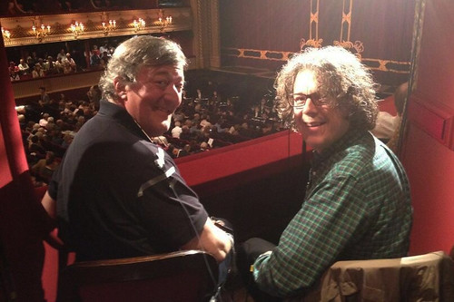 Watch: ROH event with Stephen Fry and Alan Davies to be live-streamed through Twitter