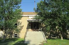 Old Carnegie Library (Chinook, Montana) (courthouselover) Tags: montana mt libraries chinook carnegielibraries blainecounty